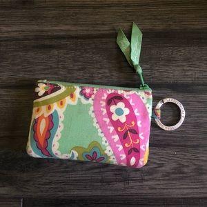 Vera Bradley, brand new key chain wallet